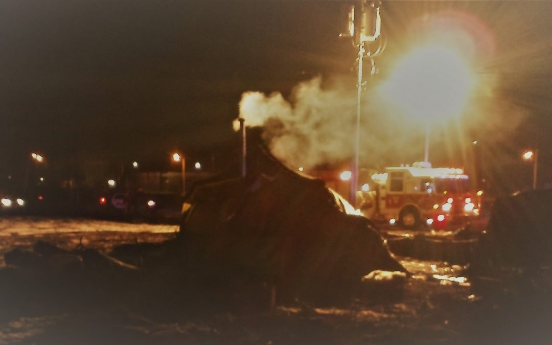 Explosions Rock Tent City in Kalamazoo